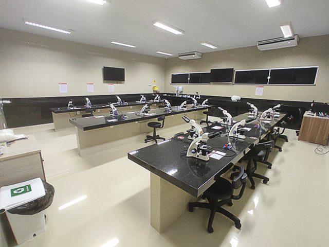 Laboratório de Microbiologia, Parasitologia e Patologia